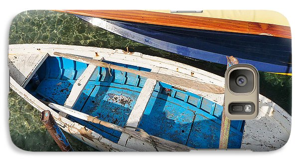 Galaxy Case featuring the photograph Two Boats by Mike Ste Marie