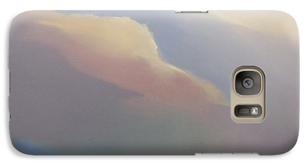 Galaxy Case featuring the painting Two Clouds by Cap Pannell