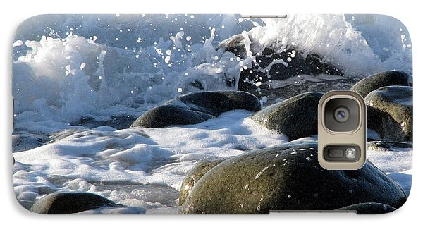 Galaxy Case featuring the photograph Two Elements by Jola Martysz