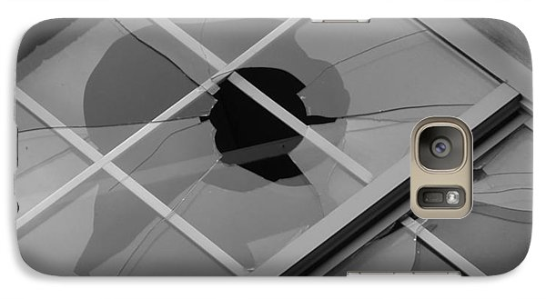 Galaxy Case featuring the photograph Two Faced by Roseann Errigo