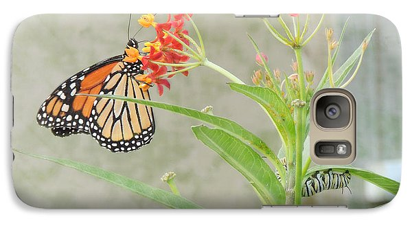 Galaxy Case featuring the photograph Two Generations by Jayne Wilson
