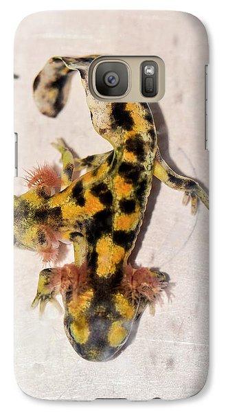 Salamanders Galaxy S7 Case - Two-headed Fire Salamander by Photostock-israel