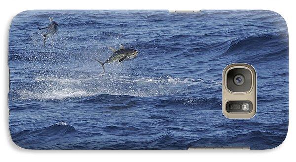 Two Jumping Yellowfin Tuna Galaxy S7 Case