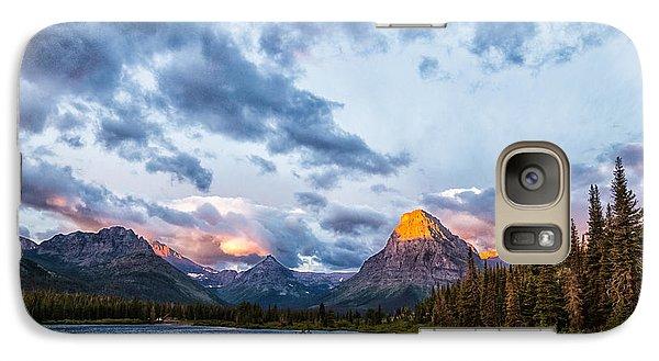 Two Medicine Lake Sunrise Galaxy S7 Case