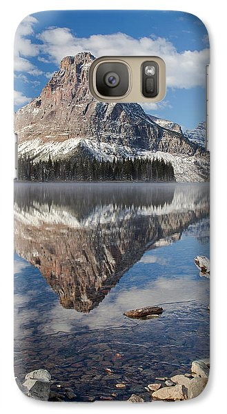 Galaxy Case featuring the photograph Two Medicine Morning by Jack Bell