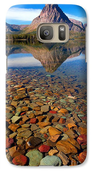 Galaxy Case featuring the photograph Two Medicine Reflection by Aaron Whittemore