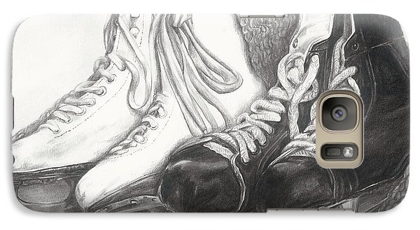Galaxy Case featuring the drawing Two Of A Kind by Meagan  Visser