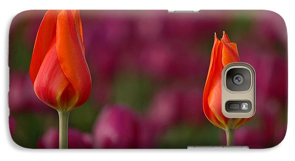 Galaxy Case featuring the photograph Two Of A Kind by Nick  Boren