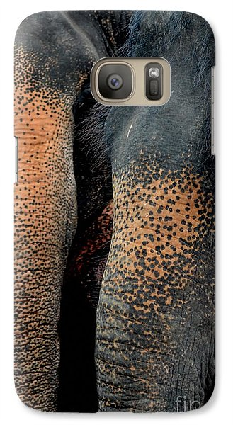 Galaxy Case featuring the photograph Two Pals by Michelle Meenawong