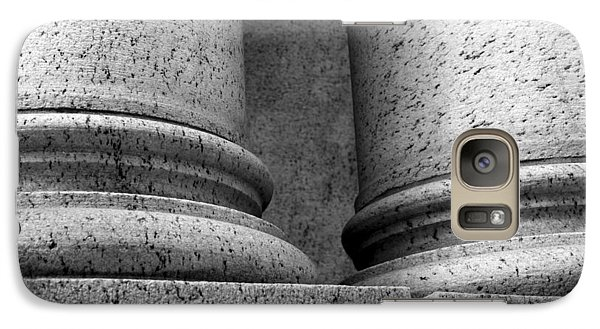 Galaxy Case featuring the photograph Two Pillars 001 by Dorin Adrian Berbier