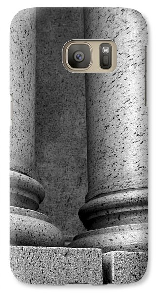 Galaxy Case featuring the photograph Two Pillars 002 by Dorin Adrian Berbier