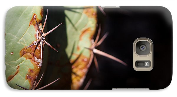 Galaxy Case featuring the photograph Two Shades Of Cactus by John Wadleigh