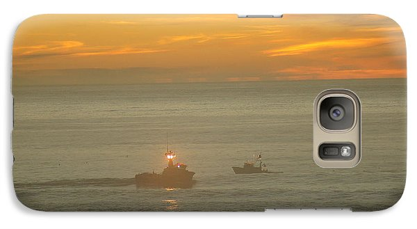 Galaxy Case featuring the photograph Two Ships Passing by Angi Parks