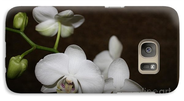 Galaxy Case featuring the photograph Two To Bloom by Cathy Dee Janes