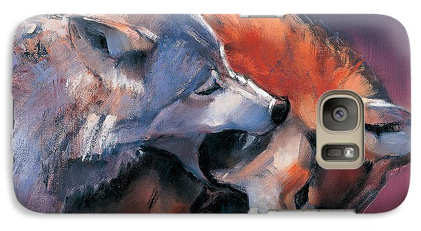 Two Wolves Galaxy S7 Case