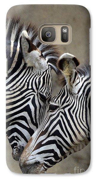 Two Zebras Galaxy S7 Case