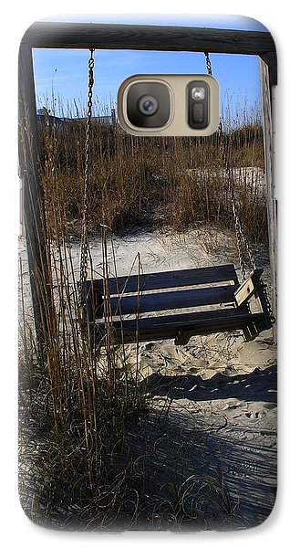 Galaxy Case featuring the photograph Tybee Island Georgia by Jacqueline M Lewis