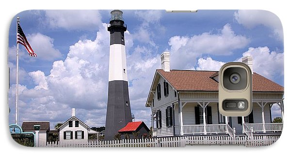 Galaxy Case featuring the photograph Tybee Island Light by Gordon Elwell