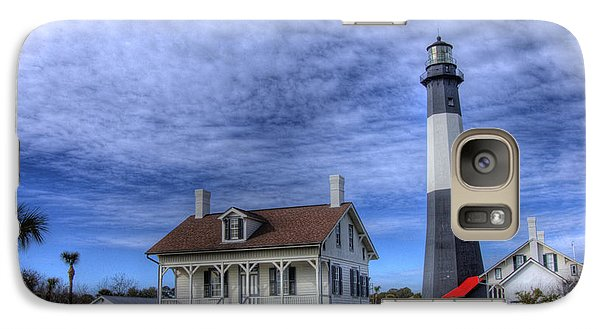 Galaxy Case featuring the photograph Tybee Island Lighthouse by Donald Williams