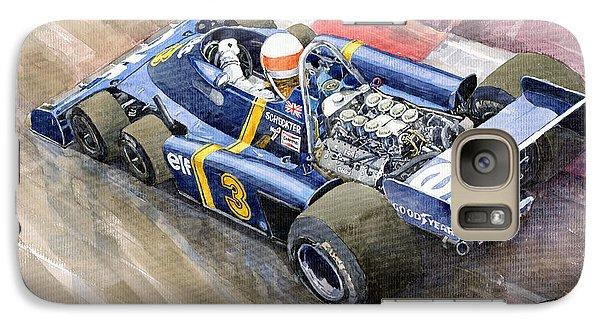 Elf Galaxy S7 Case - Tyrrell Ford Elf P34 F1 1976 Monaco Gp Jody Scheckter by Yuriy Shevchuk
