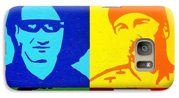 U2 Galaxy S7 Case by John  Nolan