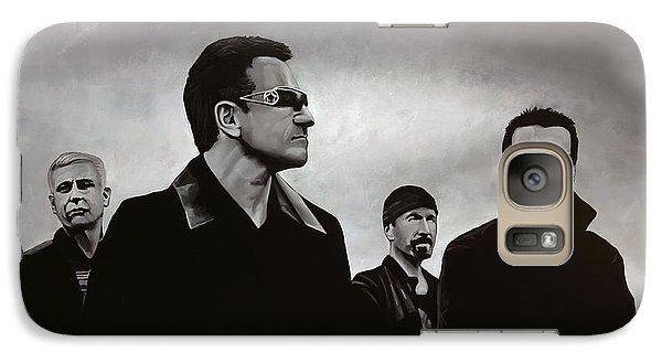 U2 Galaxy S7 Case by Paul Meijering