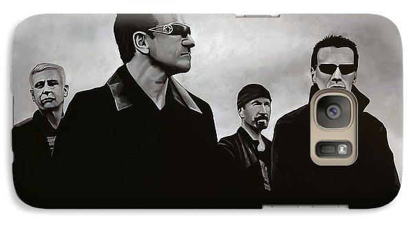 Musicians Galaxy S7 Case - U2 by Paul Meijering