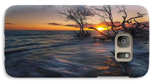Galaxy Case featuring the photograph Ukumehame Sunset by Hawaii  Fine Art Photography