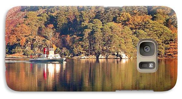 Galaxy Case featuring the photograph Ullswater Steamer by Linsey Williams