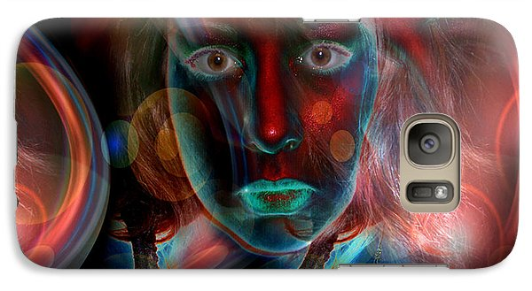 Galaxy Case featuring the digital art Umbilical Connection To A Dream  by Otto Rapp