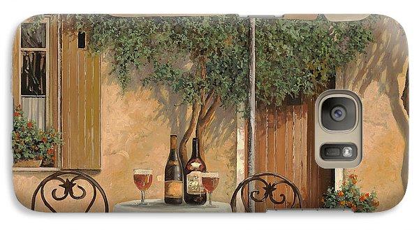 Wine Galaxy S7 Case - Un Altro Bicchiere Prima Di Pranzo by Guido Borelli