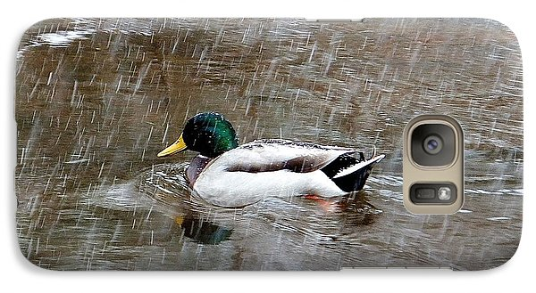 Galaxy S7 Case featuring the photograph Un Froid De Canard by Marc Philippe Joly
