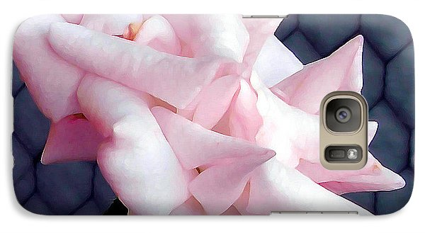 Galaxy Case featuring the photograph Una Rosa D'autunno by Mariana Costa Weldon