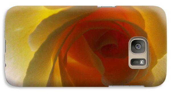 Galaxy Case featuring the photograph Unaltered Rose by Robyn King