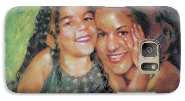 Galaxy Case featuring the drawing Unconditional Love by Viola El