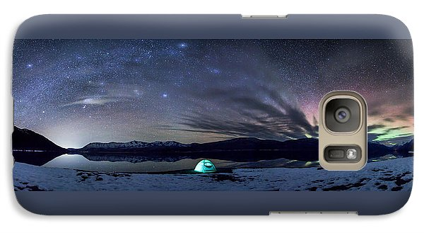 Galaxy Case featuring the photograph Under Big Skies by Aaron Aldrich