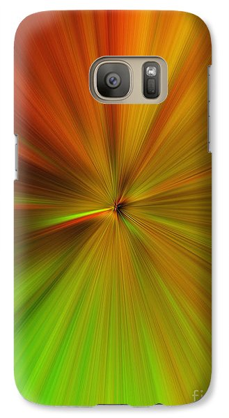 Galaxy Case featuring the photograph Under Green by Trena Mara