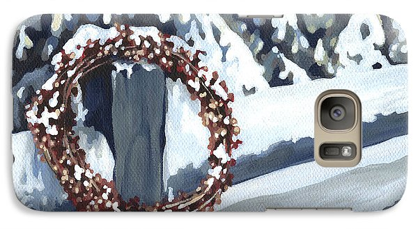 Galaxy Case featuring the painting Under Snow 2 by Natasha Denger