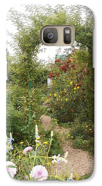 Galaxy Case featuring the photograph Under The Arch by Kristine Bogdanovich
