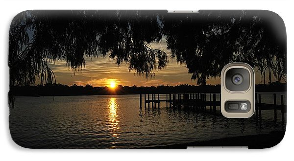 Galaxy Case featuring the photograph Under The Bald Cypress by Michele Kaiser