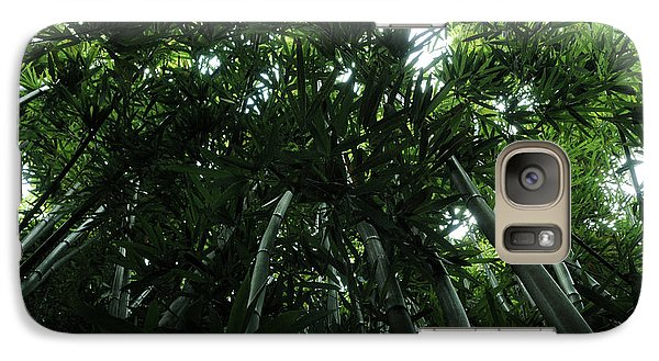 Galaxy Case featuring the photograph Under The Bamboo Haleakala National Park  by Vivian Christopher