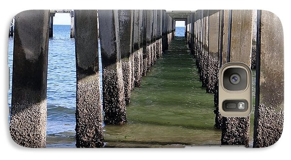 Galaxy Case featuring the photograph Under The Boardwalk by Ed Weidman