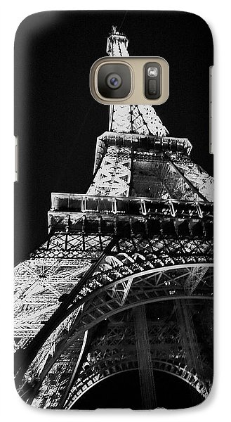 Galaxy Case featuring the photograph Under The Eiffel by Cheri Randolph