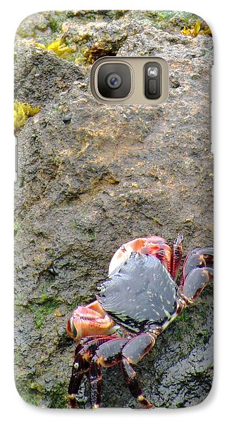 Galaxy Case featuring the photograph Under The Golden Gate Bridge by Brenda Pressnall
