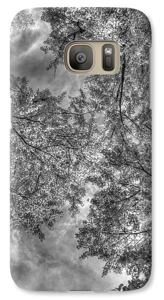Galaxy Case featuring the photograph Under The Gray  by Kevin Bone