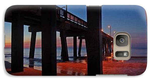 Galaxy Case featuring the digital art Under The Gulf State Pier  by Michael Thomas
