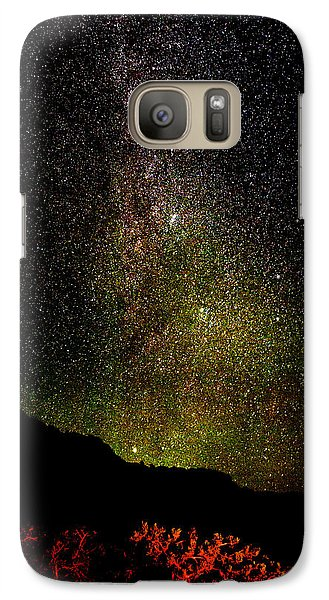 Galaxy Case featuring the photograph Under The Milky Way by Greg Norrell