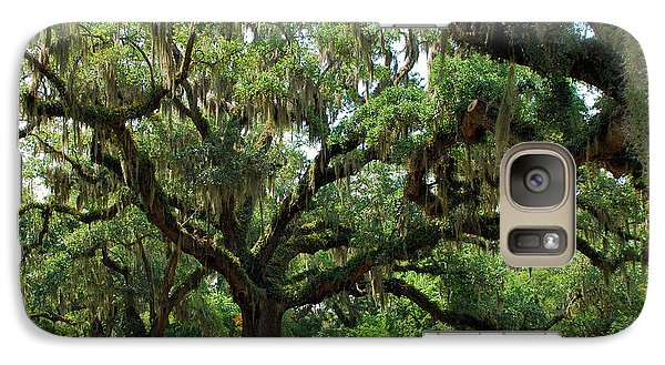 Galaxy Case featuring the photograph Under The Oaks by Bob Sample