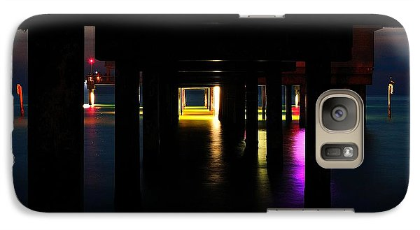 Galaxy Case featuring the photograph Under The Pier by Richard Zentner