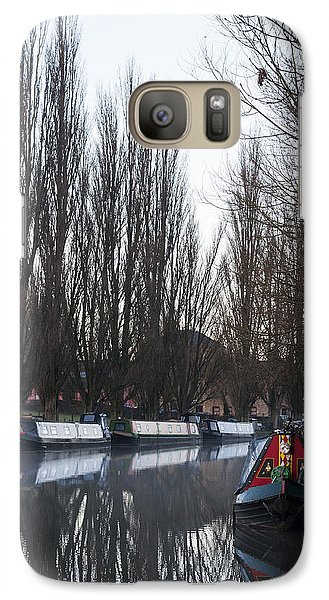 Galaxy Case featuring the photograph Under The Poplars by David Isaacson